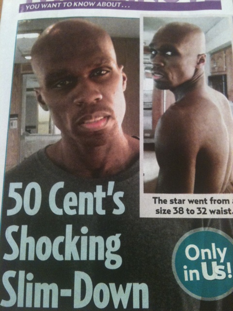 50 Cents Shocking Weight Loss