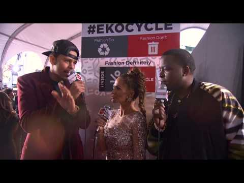 J. Cole - Red Carpet Interview - AMA 2012