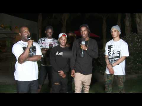 A$AP ROCKY - Fuse Interview (Coachella 2012)