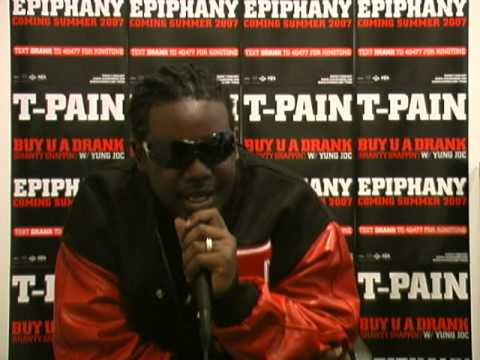 T-Pain;T-Pain Featuring Yung Joc - An Interview With T-Pain