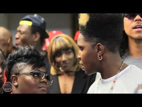 Female Rap Battle | Stud Phamous vs Morawsha | Las Vegas vs Missouri | AHAT