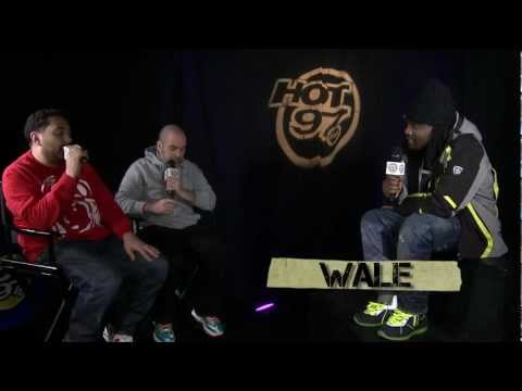 Does Wale feel he should be on MTV's Hottest MC's List?