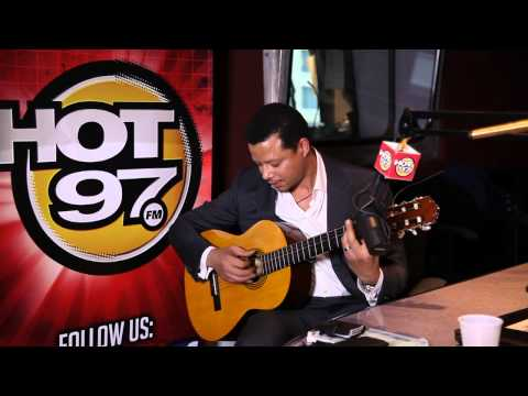 Behind the Scenes- Terrence Howard Serenades Angie Martinez
