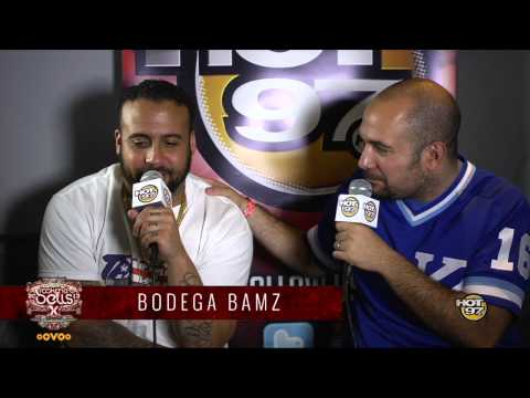 Rosenberg Interviews Bodega Bamz backstage at Rock The Bells NYC Press Conference 2013