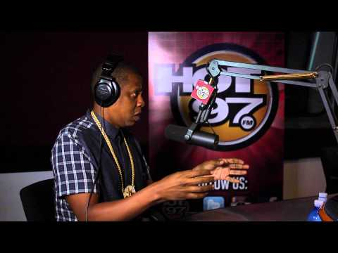 PT 2  Jay-Z defends Miley Cyrus talks about Inauguration & More!!