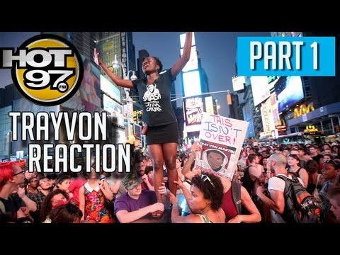 Hot97 Morning Show Emotional Reaction to Zimmerman's Verdict PT1