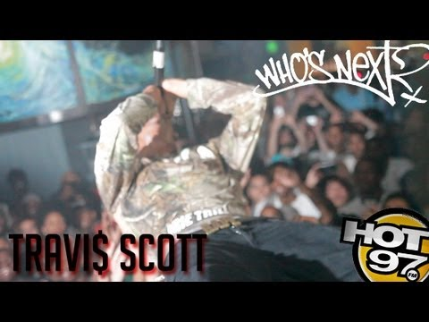 Travi$ Scott performs at Hot 97 Who's Next Live PT 2