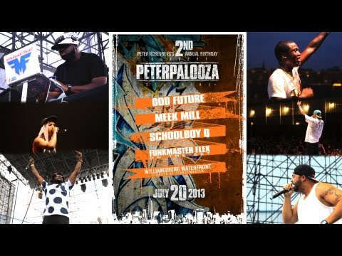 #PeterPalooza Recap feat. Odd Future, Meek Mill, Schoolboy Q, World's Fair, and more!