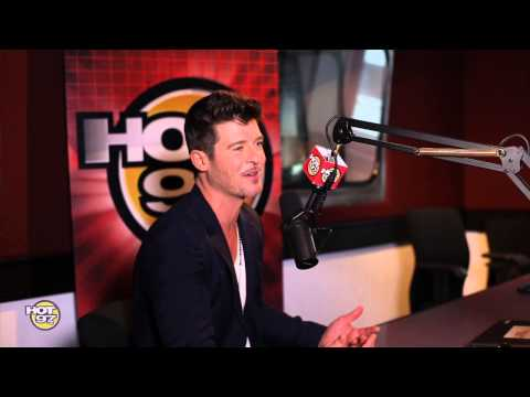 Robin Thicke defends his wife and gives Rosenberg a new NickName