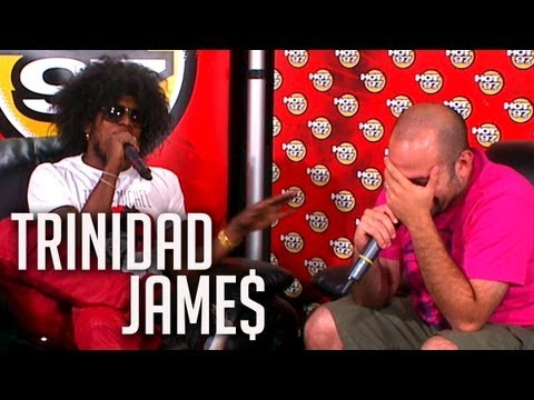 Trinidad Jame$ explains why he is going to beat up Rosenberg's kids