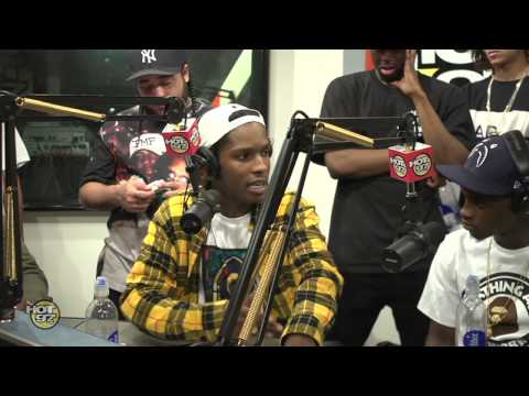 FUNK FLEX HAS 100 TALK ABOUT HIP HOP WITH ASAP MOB