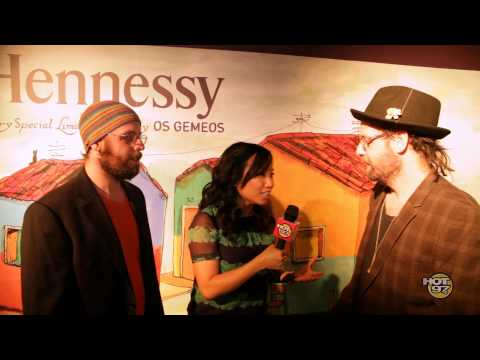 Hennessy X Os Gêmeos Launch Party featuring Jazzy Jeff and Nas