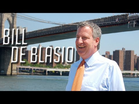 Mayoral Candidate Bill De Blasio explains why he should be elected