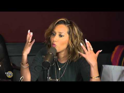 Adrienne Bailon talks New Movie, The Reel & More on The Angie Martinez Show