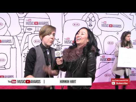 Miss Info interviews Hannah Hart at the 2013 YouTube Music Awards
