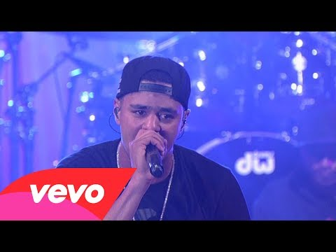 J. Cole - Crooked Smile (Live on Letterman)