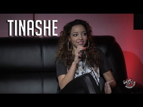 Tinashe talks about origins of her name + says her name is in Tanisha!