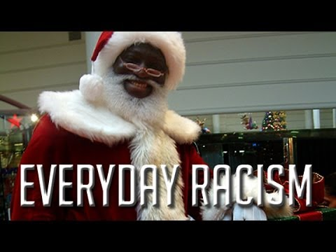 Everyday Racism: Santa and Jesus is not Black?