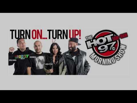 TUNE IN!  Hot97 Morning Show with Pete Carroll