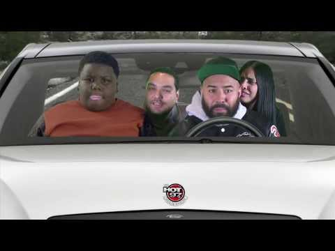 Lil Terrio Riding with the Hot97 Morning Show!