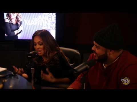La La Anthony talks new book + comments on Carmelo' s Future on The Angie Martinez Show!